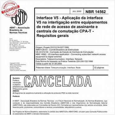NBR14562 de 07/2000