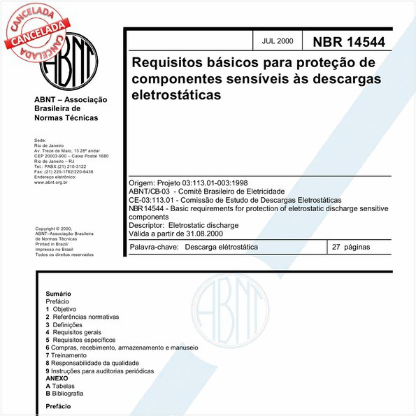 Requisitos básicos para proteção de componentes sensíveis às descargas eletrostáticas