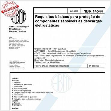 NBR14544 de 07/2000