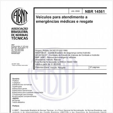 NBR14561 de 07/2000