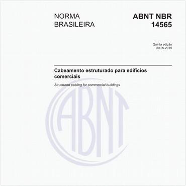 NBR14565 de 09/2019