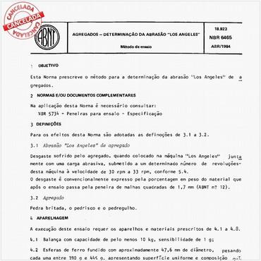 NBR6465 de 04/1984