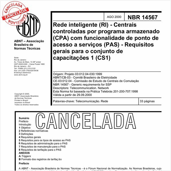 NBR14567 de 09/2010