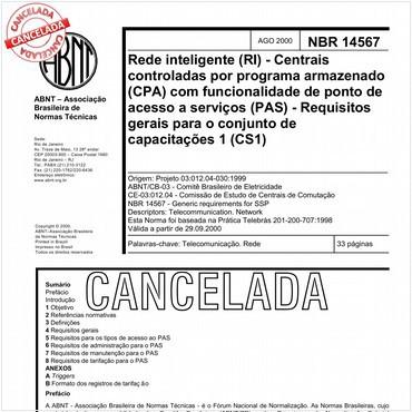 NBR14567 de 08/2000