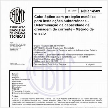 NBR14589 de 09/2000