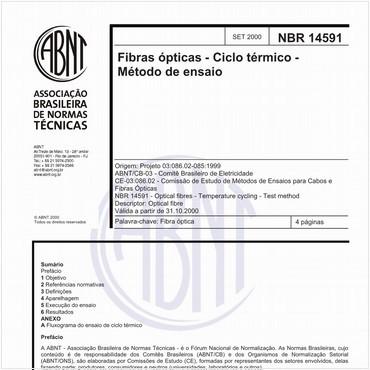 NBR14591 de 09/2000