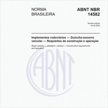 NBR14582 de 06/2020