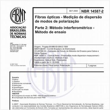 NBR14587-2 de 09/2000