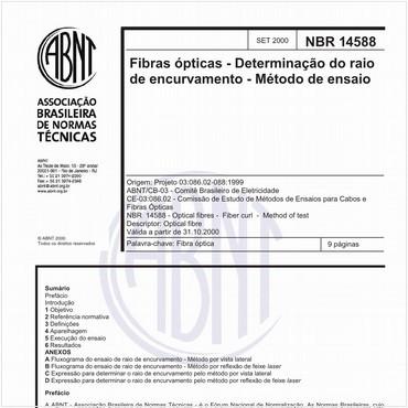NBR14588 de 09/2000