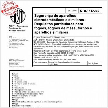 NBR14583 de 09/2000