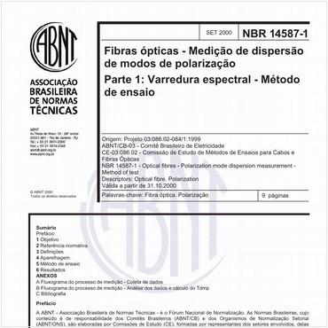 NBR14587-1 de 09/2000