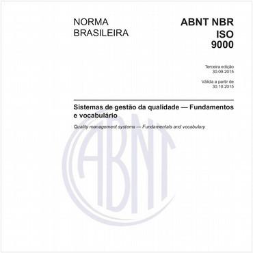 NBRISO9000 de 09/2015