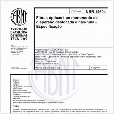 NBR14604 de 10/2000