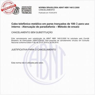 NBR14612 de 10/2000
