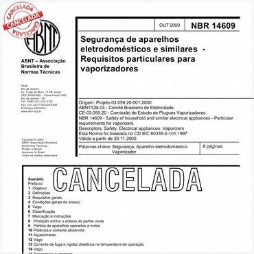 NBR14609 de 10/2000