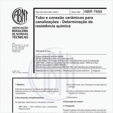 NBR7689 de 08/1991