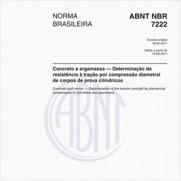 NBR7222 de 05/2011
