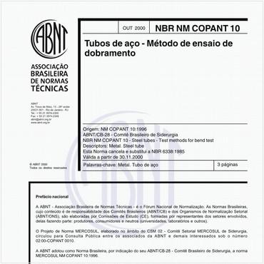 NBRNM-COPANT10 de 10/2000