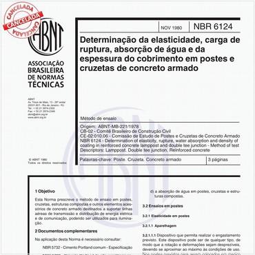NBR6124 de 11/1980
