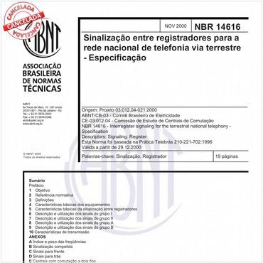 NBR14616 de 11/2000
