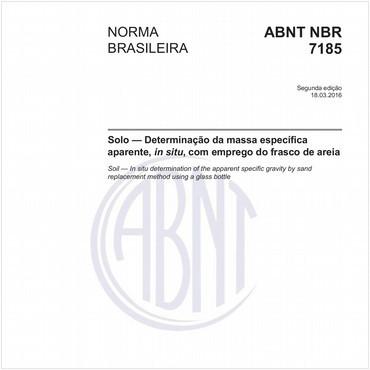 NBR7185 de 03/2016
