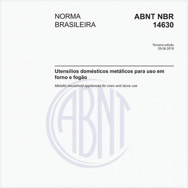 NBR14630 de 06/2018