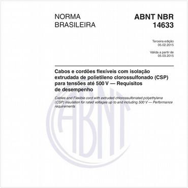 NBR14633 de 02/2015