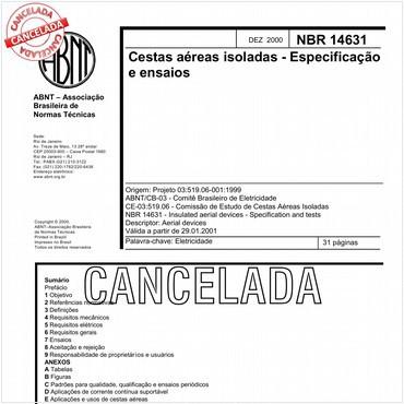 NBR14631 de 12/2000