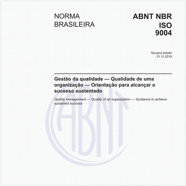 NBRISO9004 de 11/2019