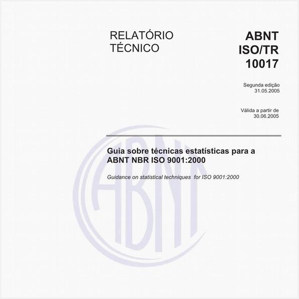 Guia sobre técnicas estatísticas para ABNT NBR ISO 9001:2000