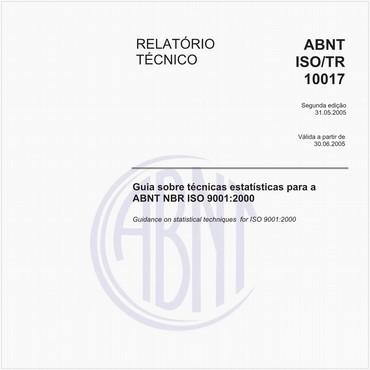 ABNT ISO/TR10017 de 05/2005