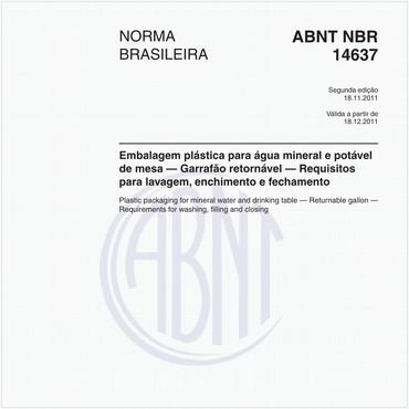 NBR14637 de 11/2011