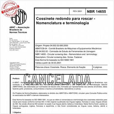 NBR14655 de 02/2001