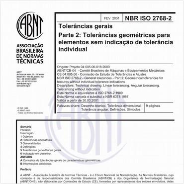 NBRISO2768-2 de 02/2001