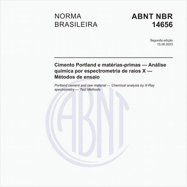 Cimento Portland e matérias-primas - Análise química por espectrometria de raios X - Método de ensaio