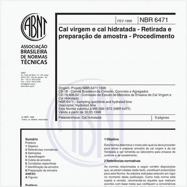 NBR6471 de 02/1998