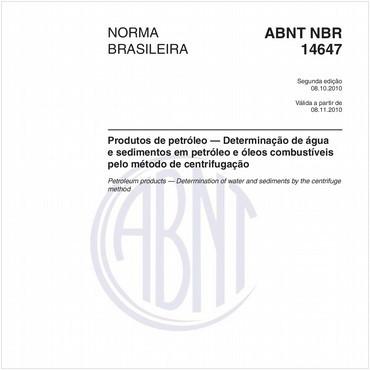 NBR14647 de 10/2010