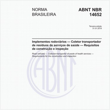 NBR14652 de 01/2019