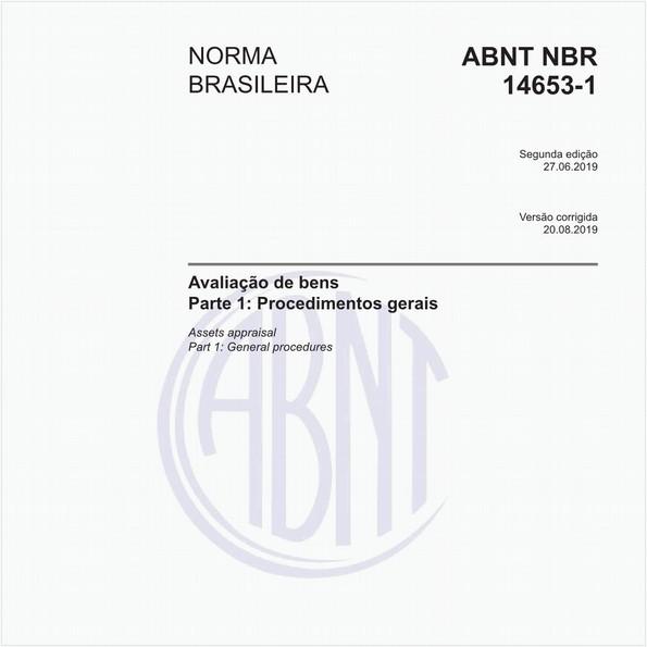 NBR14653-1 de 06/2019