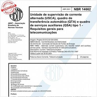 NBR14662 de 04/2001