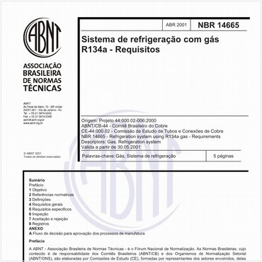 NBR14665 de 04/2001