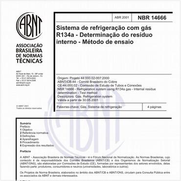 NBR14666 de 04/2001