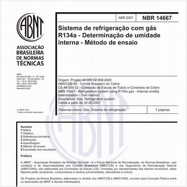 NBR14667 de 04/2001