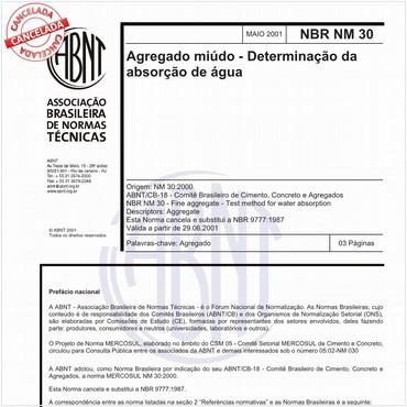 NBRNM30 de 05/2001