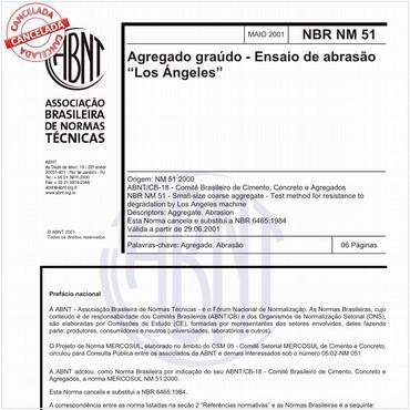 NBRNM51 de 05/2001