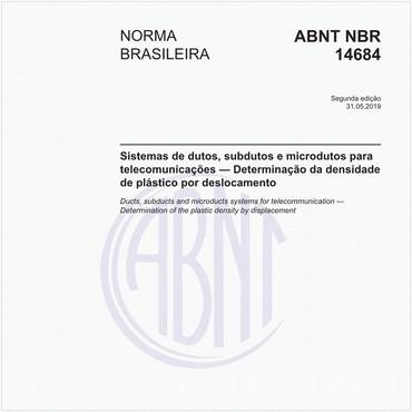 NBR14684 de 05/2019