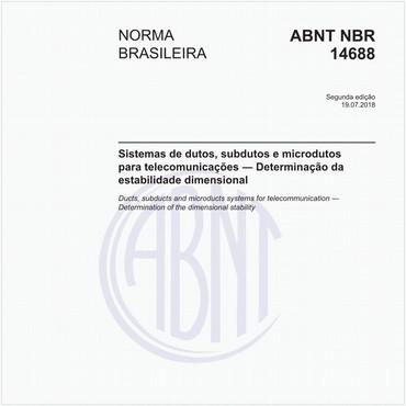 NBR14688 de 07/2018