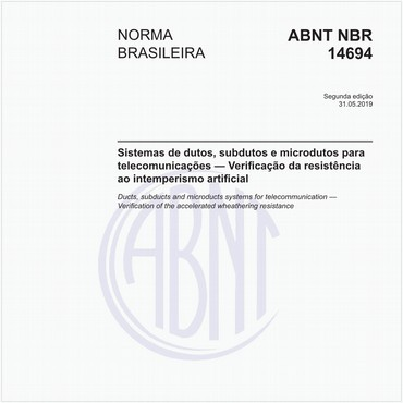 NBR14694 de 05/2019