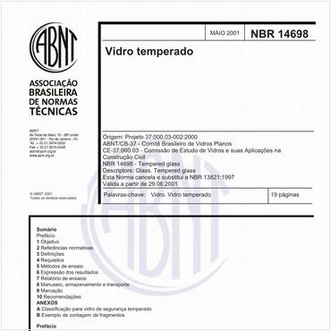 NBR14698 de 05/2001