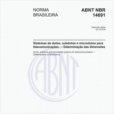 NBR14691 de 10/2018